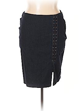 Lauren by Ralph Lauren Denim Skirt Size 14