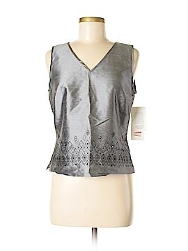 Sunny Leigh Sleeveless Silk Top Size 6
