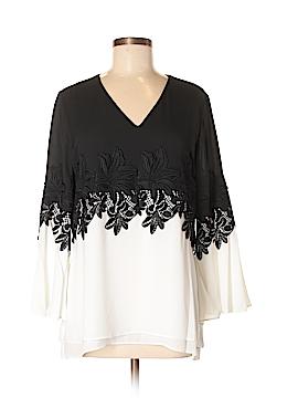 Alfani Long Sleeve Blouse Size 10
