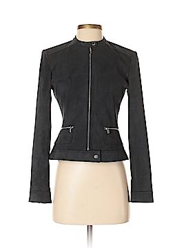 Calvin Klein Faux Leather Jacket Size 0