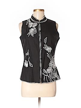 Silk Land Sleeveless Silk Top Size S