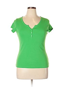 VS Tee Shop Short Sleeve Henley Size XL