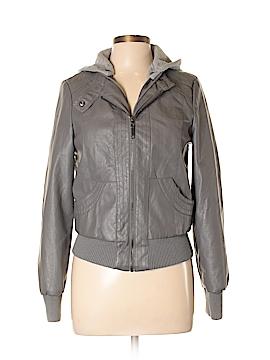 Full Tilt Faux Leather Jacket Size L