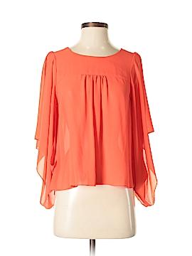 Double Zero Short Sleeve Blouse Size S