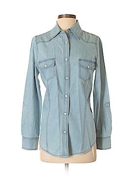Hannah Long Sleeve Button-Down Shirt Size S