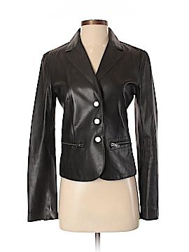H Hilfiger Leather Jacket Size S