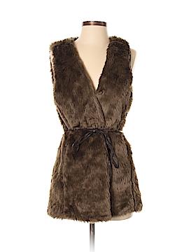 Jolt Faux Fur Vest Size S