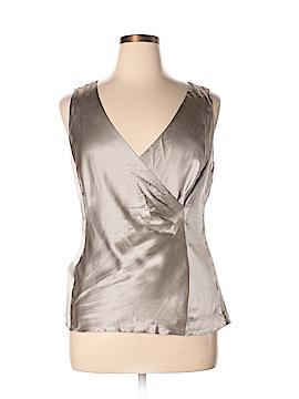Ann Taylor Sleeveless Silk Top Size 14
