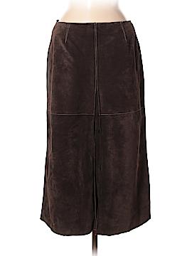 Classiques Entier Faux Leather Skirt Size 8