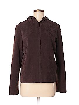 BCBGMAXAZRIA Faux Leather Jacket Size 8