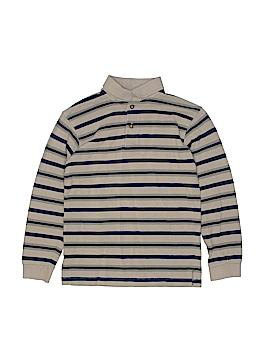TKS Basics Long Sleeve Polo Size 8