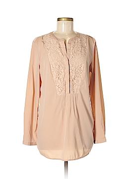 Nine West Vintage America Long Sleeve Blouse Size M