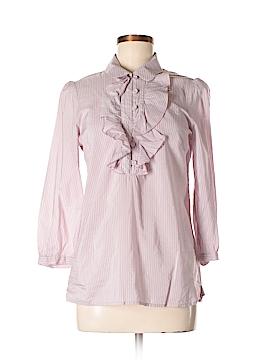 Jigsaw 3/4 Sleeve Button-Down Shirt Size 6