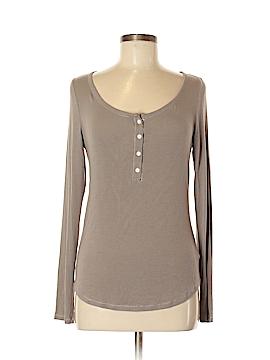 Carole Hochman Long Sleeve Henley Size M
