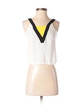 H&M Sleeveless Blouse Size 4