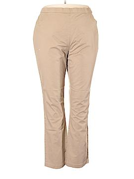 Norm Thompson Khakis Size 1X (Plus)
