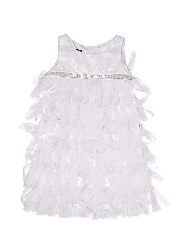 1849453f2070 Biscotti Collezioni 100% Polyester Solid Gray Special Occasion Dress ...