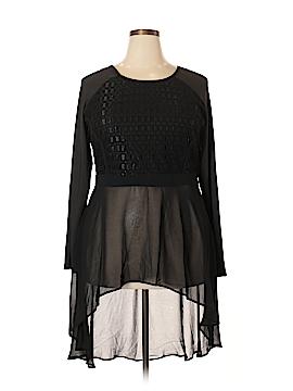 City Chic Long Sleeve Blouse Size 18 Plus (M) (Plus)