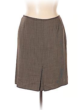 Tahari by ASL Wool Skirt Size 16