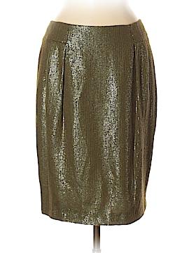 Carmen Marc Valvo Collection Silk Skirt Size 6