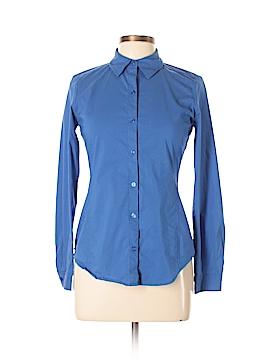 QMack Long Sleeve Button-Down Shirt Size S