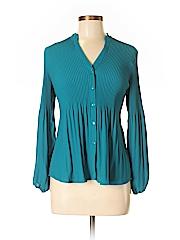Alfani Women Long Sleeve Blouse Size 6 (Petite)