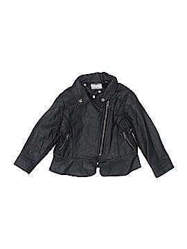 OshKosh B'gosh Faux Leather Jacket Size 2T