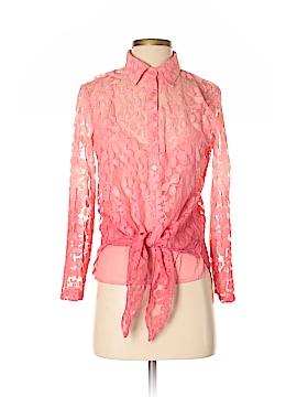 Lola P. Long Sleeve Blouse Size S