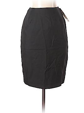 Linda Allard Ellen Tracy Silk Skirt Size 0