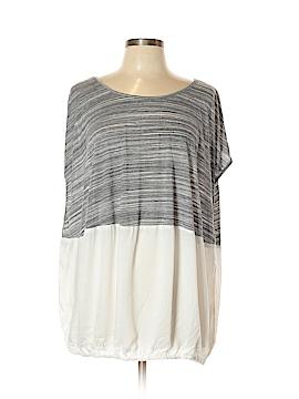 Hem & Thread Short Sleeve Top Size Med - Lg