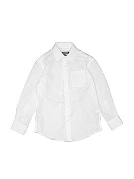 Cherokee Long Sleeve Button-Down Shirt Size X-Small  kids 4/5