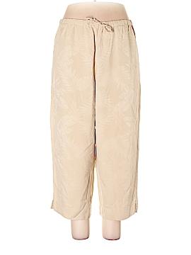 Coldwater Creek Silk Pants Size L