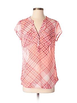 New York & Company Short Sleeve Blouse Size S
