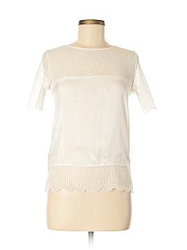 The Kooples Short Sleeve Silk Top Size XS