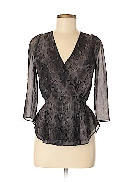 Babaton 3/4 Sleeve Silk Top Size XS