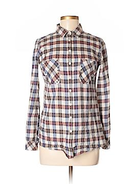 IKKS Long Sleeve Button-Down Shirt Size 34 (FR)