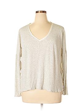Bordeaux 3/4 Sleeve T-Shirt Size XL