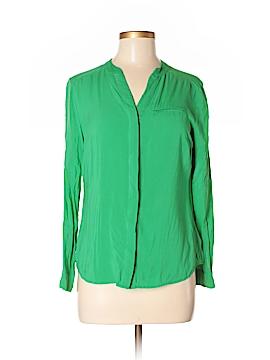 Worthington Long Sleeve Button-Down Shirt Size S