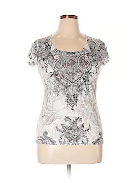DressBarn Short Sleeve T-Shirt Size L (Petite)