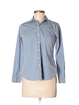 Ann Taylor LOFT Outlet Long Sleeve Button-Down Shirt Size 6p
