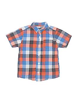Big Oshi Short Sleeve Button-Down Shirt Size 3T