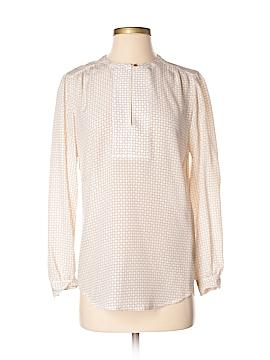 Club Monaco Long Sleeve Silk Top Size XS