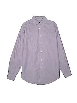 Class Club Long Sleeve Button-Down Shirt Size 16