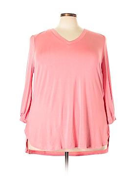 Melissa McCarthy Seven7 Long Sleeve T-Shirt Size 2X (Plus)