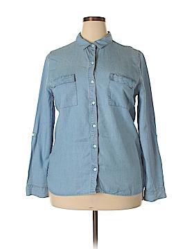 Gap Outlet Long Sleeve Button-Down Shirt Size XL