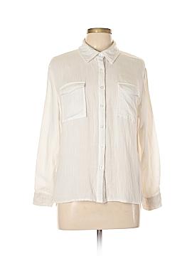 Amaryllis Long Sleeve Button-Down Shirt Size L