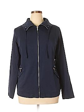 Karen Scott Sport Jacket Size 0X (Plus)