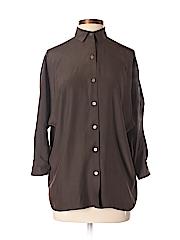 Vince. Women 3/4 Sleeve Silk Top Size XS