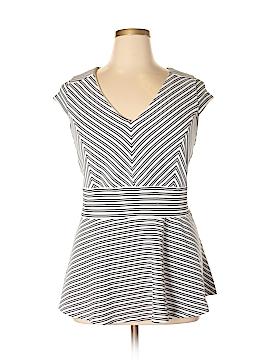 City Chic Short Sleeve Top Size L (Plus)