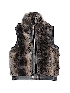 Sugarfly Faux Fur Vest Size 4